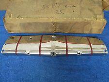 1953 PLYMOUTH CRANBROOK CAMBRIDGE UPPER CENTER GRILL BAN NOS MOPAR 515