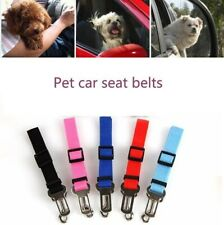 1/2 Pcs Car Seat Belt Adjustable Harness for Small Medium Large Dogs Travel Clip