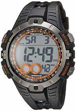 NEW! TIMEX MEN'S T5K801M6 MARATHON BLACK DIGITAL SPORTS WATCH WR 50 METERS