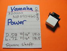 YAMAHA 320000 NB090460 POWER SWITCH KNOB CR-640 CR-840 CR-1040