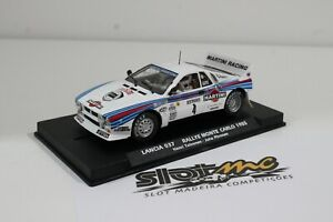 Flyslot 046102 Lancia037 Monte Carlo 1985 H.Toivonen - J.Piironen 1/32  #NEW#