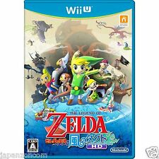 Used The Legend of Zelda Kaze no Takuto HD NINTENDO WII U JAPANESE NEW JAPANZON