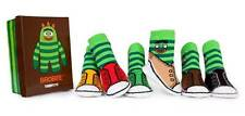 TRUMPETTE Yo Gabba Gabba Brobee 0-12 month Baby Boy socks - 6 Pair