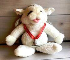 Vintage Baby Lamb Chop Angel Puppet Plush 14 Inch Toy Lovey Shari Lewis Soft
