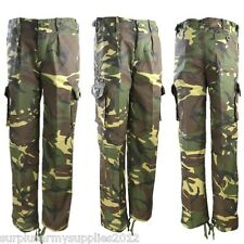 Kids Kombat Camouflage Combat Trousers British DPM Size 5-6