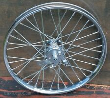 "20"" Chopper Cruiser Bicycle Front WHEEL Drum Brake Hub  Rim Vintage Schwinn Bike"
