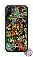Dracula Frankenstein Scary Vintage Poster Phone Case For iPhone Samsung Google
