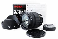 "Sigma DC 17-70mm f2.8 4.5 Macro For Nikon ""EXCELLENT++""  Free Ship From Japan"