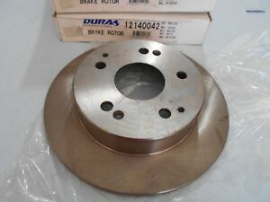 Rear Disc Brake Rotor-Set (2) Acura EL - Integra - RSX - Honda Accord - Civic Si