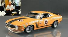 Defect 1970 FORD MUSTANG BOSS 302 #15 VEL'S PARNELLI JONES SIGNED 1/18