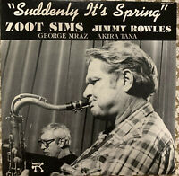 Zoot Sims Suddenly It's Spring Pablo (EX) w/Jimmy Rowles