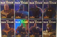 2018 Upper Deck Avengers Infinity War Trading Card Set of 10 MAD TITAN Thanos