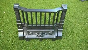 fireplace front bars grill fret fire front  replacement part for fireplaces