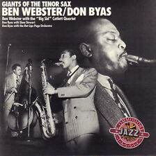 BEN WEBSTER / DON BYAS - GIANTS OF THE TENOR SAX (1988 US JAZZ CD COMPILATION)