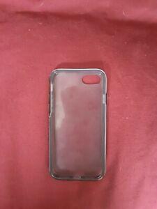Black transparent iphone 7 Anker case Hard bumper shockproof