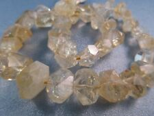 Citrine Faceted Freeform Nuggets Beads 36pcs