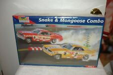 Revell Monogram Snake Mongoose Funny Car Combo Very Rare Hard To Find Sealed