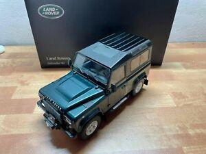 *Blitzauktion* NUR 72 Stunden 1:18 Kyosho Land Rover Defender 90 Grün
