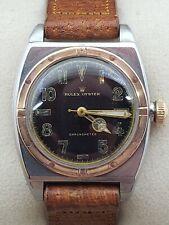 "Rare 1930's Rolex ""Viceroy"" Chronometer 5056 Semi California Dial Wristwatch"