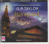 G P Taylor Wormwood 8CD Audio Book Unabridged Fantasy Young Adult FASTPOST