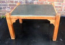 Unusual Arts and Crafts granite coffee table Ash and Elm 1930s