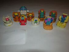 Lot Of 10 Vintage McDonald's Transformers Changeables, Neat!            (Lot #2)