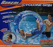 Banzai Cyclone Spin Play Fun Pool Toy Outdoor Sport Water 50 in H x 22 in W NIB