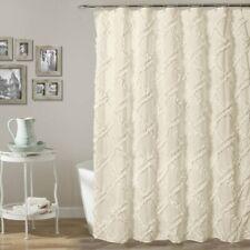 Ornellas Single Shower Curtain - Ivory - NEW