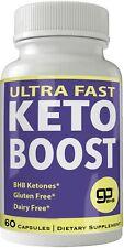 Ultra Fast Keto Boost Weight Loss Pills with Advanced Natural Ketogenic BHB B...