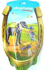 T16) PLAYMOBIL ®  Schmück Pony Sternchen Set  (6970) Country Serie Pferd Pferde