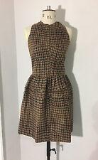 Junya Watanabe for Comme Des Garcons 2005 Vintage brown tweed dress RRP £1,450