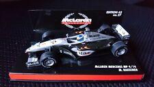 Minichamps 1/43 Mika Hakkinen McLaren Mercedes MP4/14 1999 World Champion #1