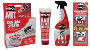 Nippon Ant Killer Liquid Trap Spray Bait Station Destroys Nest and Colonies
