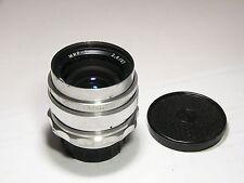 Mir-1 2.8/37mm Grand Prix Brussels 1958 lens #020631 M39/M42 Russ Flektogon 1B