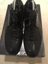 Lanvin Paris Men's Black Lace Up Shoes UK 10