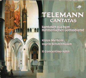 Telemann - Cantatas / Schmithüsen · Mertens · Il Concertino Köln [2 CDs]