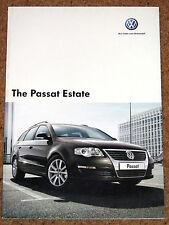 2006-07 VW PASSAT ESTATE Sales Brochure - S SE Sport SEL TDI 4MOTION