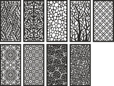 3000+ vector DXF file cdr laser cnc plasma cut 3d 2d panels