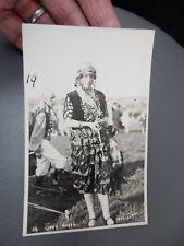 Gypsy Party Baildon ShipleyYorkshire 1929 photographic POSTCARD authentic  k