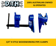 HEAVY DUTY 3/4'' H STYLE WOODWORKING PIPE CLAMP