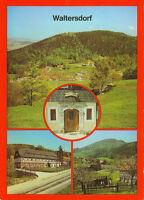 Alte Ansichtskarte Postkarte Waltersdorf Mehrbild 1985 nicht gelaufen