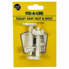 Fix-A-Loo Toilet Seat Nuts & Bolts – suits most Caroma, Australian Brand