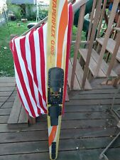 """TAPERFLEX G100 fiberglass water ski . ( one only ) 67"""" long-7"""" wide- 1"""" thick"""