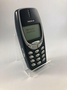 Nokia 3310 blau guter Zustand Simlockfrei 12 Monate Gewährleistung