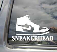 Sneakerhead - Sneaker Collecting Urban - Car Vinyl Die-Cut Decal Sticker 10027