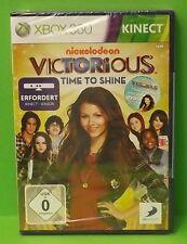 Victorious Time to Shine XBOX 360 KINECT Spiel tanzen, singen, schauspielen Neu