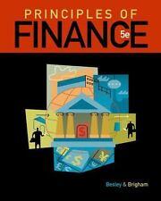 Principles of Finance by Eugene F. Brigham and Scott (Scott Besley) Besley...