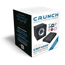 CRUNCH BASSPACK 4CH CBP1000 Basspaket 1000 W Ground Pounder-Serie CBP 1000