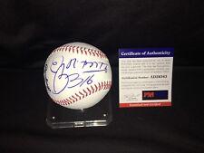 Romero Brito Signed Major League Baseball World Famous Artist W/ Sketch PSA