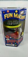 M&M's Fun Machine Dispenser Candy Kids Spinning Gumball 2002 ( No Candy) NEW